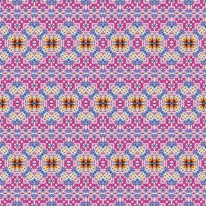 Pink Aztec Lace