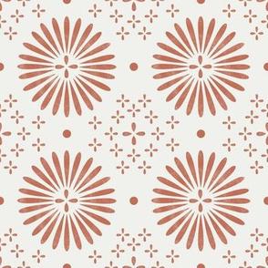 boho sun fabric - bohemian fabric, mudcloth fabric, gender neutral fabric, baby bedding fabric - sand