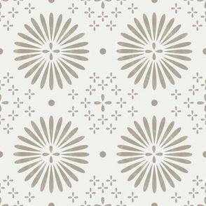 boho sun fabric - bohemian fabric, mudcloth fabric, gender neutral fabric, baby bedding fabric - neutral
