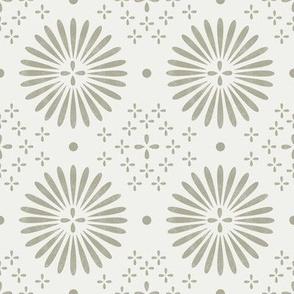 boho sun fabric - bohemian fabric, mudcloth fabric, gender neutral fabric, baby bedding fabric - oat