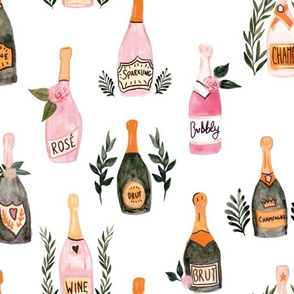 Champagne French Garden Romance