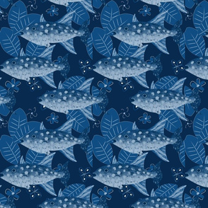 Fish have the blues