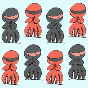 Ninja Octopi friend