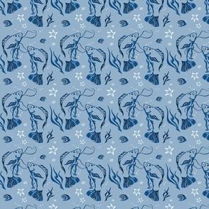 Blue Gourami-Light Blue