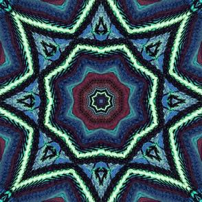 Mandala Retro Style I