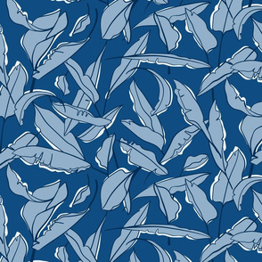 Don't Leaf the Party (Classic Blue)