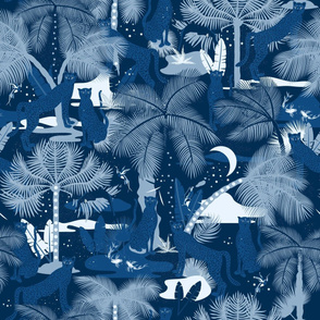 Magical Night in the Jungle / Classic Blue Limited colors