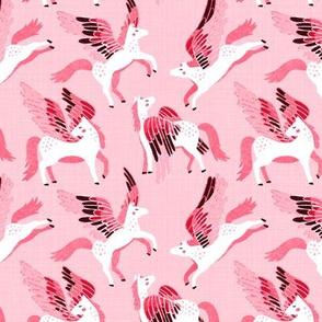 Pink Pegasus Pattern - Small Version