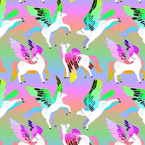 Radical Rainbow Pegasi - Medium Version