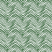 forest green evergreen zig zag
