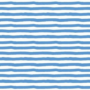 "6"" Bright Blue Stripes"