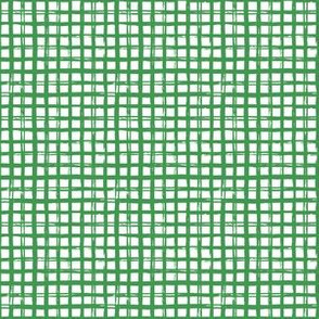 "6"" Bright Green Grid Pattern"