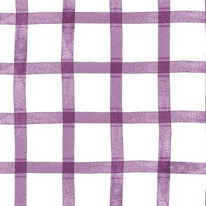 Valentine Plaid { Purple }