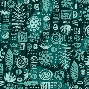 Mayan Jungle - Large
