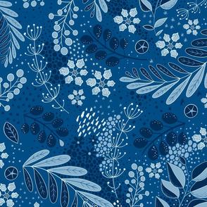Classic Blue Floral Ciufo