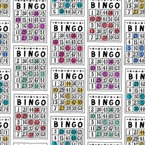 bingo - white