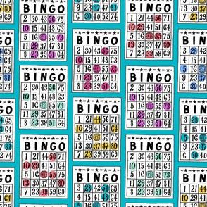 bingo - teal