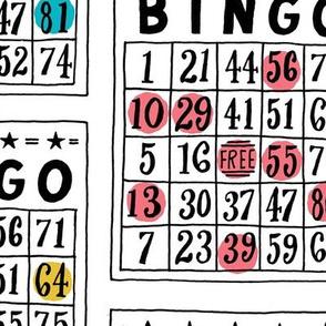 bingo - large scale white
