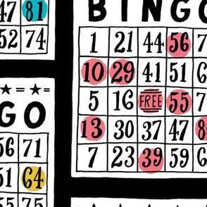 bingo - large scale black