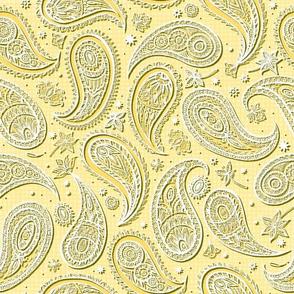 Paper Paisley//Yellow