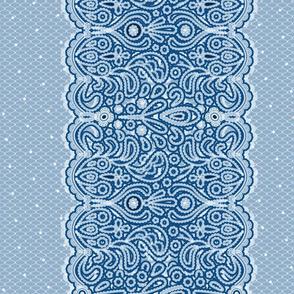 Lace stripes & dots vibes