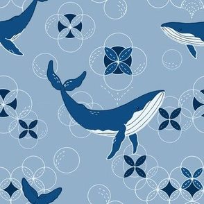 Classic Blue Whales