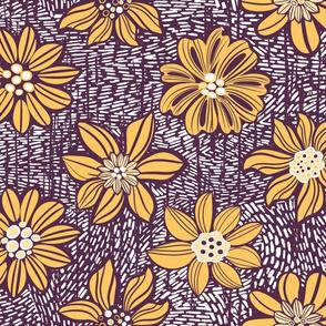 Bright Vintage flowers
