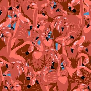 Flamingo camouflage