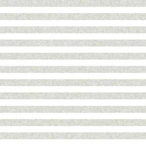 neutral green stripe fabric