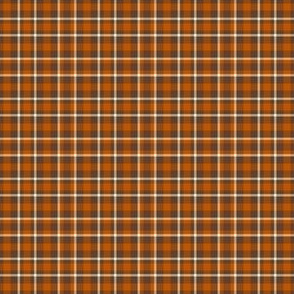 Clear Spring Brown Plaid Small Scale Seasonal Colors Palette