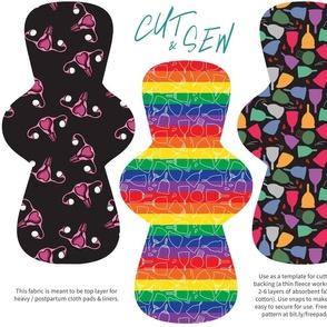 Cut & Sew Pad Pattern Heavy / Postpartum
