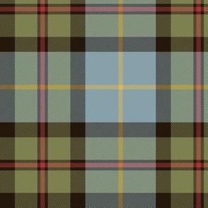 "MacLeod of Assynt tartan, olive variant, 6"""