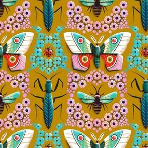 Moth and Mantis