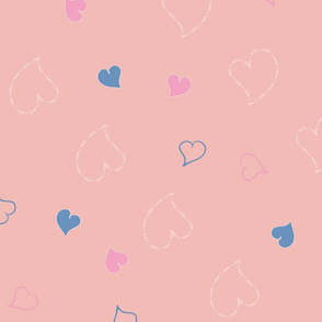 Valentine Hearts Collection Pattern