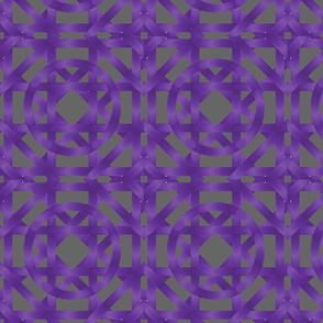 Purple square and circle
