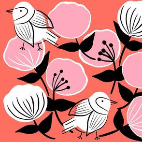 Modern spring flora