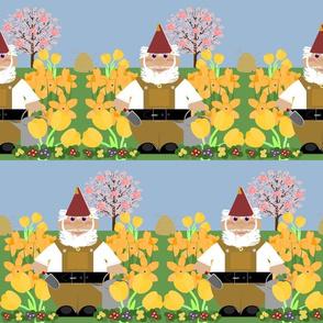no place like gnome-spring flora