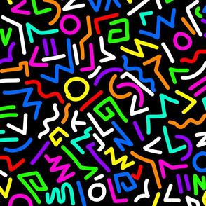 80s neon
