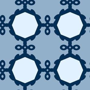 Mirror Mirror - Blue - Medium