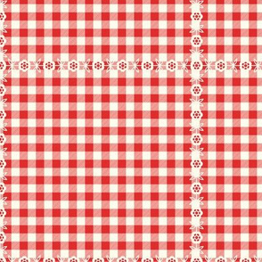 Fruit Cocktail: Coordinate - Gingham Lace