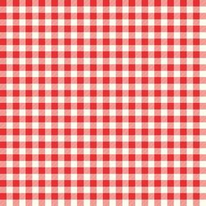 Red & White Gingham