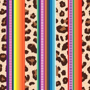 Leopard serape