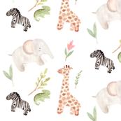 jungle babies on safari