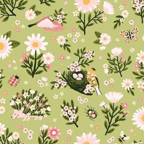 Spring Garden Flora & Fauna