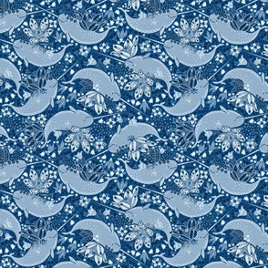 """Whimsical Narwhals 4"""""""