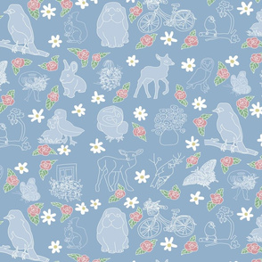 Favorites in Spring Spoonflower