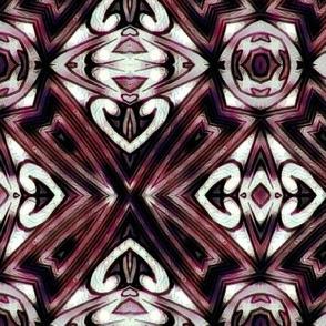 Rose Black Deco Diamonds