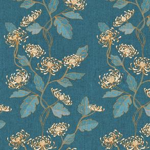 Chrysanthemum Nouveau {Imperial Blue}