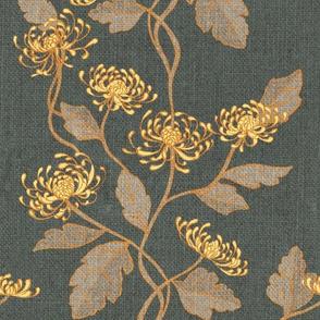 Chrysanthemum Nouveau {Pewter}
