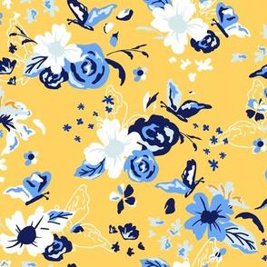 Calantha - Playful Yellow